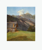 The Chalet Collectable Print by Ferdinand Georg Waldmueller