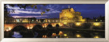 Castel Sant'Angelo at Night, Rome Art par Murat Taner