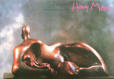 Reclined Woman with Child Poster by Henry Moore