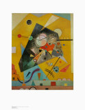Silent Harmony Prints by Wassily Kandinsky