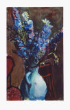 Larkspur Collectable Print by Josef Dobrowsky