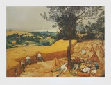 Summer, The Harvesters Collectable Print by Pieter Bruegel the Elder