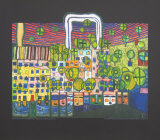 Loewengasse, c.1980-1982 Collectable Print by Friedensreich Hundertwasser