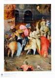 Group of Victims Collectable Print by Hieronymus Bosch