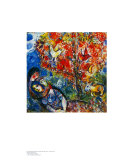 The Enamoured Prints by Marc Chagall