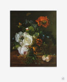Basket of Flowers Collectable Print by Jan van Huysum