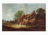 A Village Fair Collectable Print by Pieter De Bloot