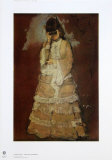 A Lady with Lorgnette Collectable Print by Edgar Degas