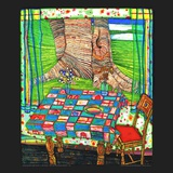 Isle of the Lost Wishes, c.1975 Obra de arte por Friedensreich Hundertwasser