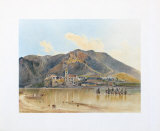 View of Duernstein in Wachau Collectable Print by Rudolph von Alt