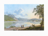 The Lake Traunsee Collectable Print by Jakob Alt