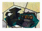 The Green Tablecloth Collectable Print by Georges Braque