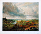 Hampstead Heath, 1825 Collectable Print by John Constable