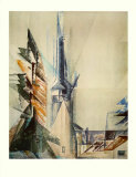 Gelmeroda Collectable Print by Lyonel Feininger