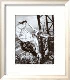 Sur la Tour Eiffel, c.1938 Poster by Erwin Blumenfeld