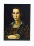 Eleonora Von Toledo Collectable Print by Angelo Bronzino