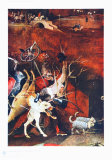 Group of Vendeful Spirits Collectable Print by Hieronymus Bosch