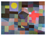 Fire at Full Moon, 1933 Art by Paul Klee