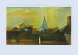 Nermsdorf Collectable Print by Lyonel Feininger