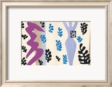 The Knife Thrower, pl. XV from Jazz, c.1943 Print by Henri Matisse