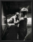 The Caretaker's Cat Affiches par Willy Ronis