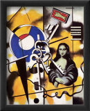 La Joconde aux Clefs, c.1930 Print by Fernand Leger