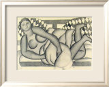 Nude, 1971 Prints by Fernand Leger