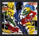 Les Belles Cyclistes, c.1944 Prints by Fernand Leger