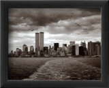 Manhattans skyline Plakat af Walter Gritsik