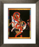 Pergusa Three Prints by Frank Stella