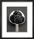 Blackberries and Spoon Prints by Sara Deluca