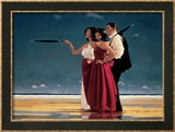 The Missing Man I Kunst von Jack Vettriano