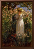 Summer's Day in the Flower Garden Posters by Robert Payton Reid