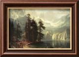 Sierra Nevada in California Art by Albert Bierstadt