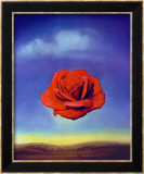 The Meditative Rose, 1958 Affiche par Salvador Dalí