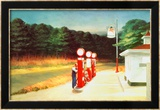 Gas 1940 Affiches par Edward Hopper