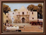 Chili Queens at the Alamo Art by Julian Robert Onderdonk