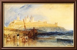 Dunstanborough Castle, North Poster von J. M. W. Turner