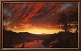 Twilight in the Wilderness, c.1860 Art par Frederic Edwin Church