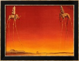 Die Elefanten, ca. 1948 Poster von Salvador Dal&#237;