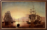 Boston Harbor Láminas por Fitz Hugh Lane