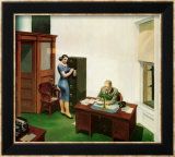 Office at Night Affiches par Edward Hopper