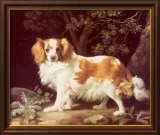 King Charles Spaniel Lminas por George Stubbs