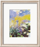 Les Agapanthes Art by Claude Monet