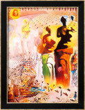 Le tor&#233;ador hallucinog&#232;ne Poster par Salvador Dal&#237;