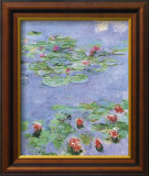 Water Lilies, c. 1914-1917 Poster by Claude Monet