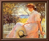 Eleanor Láminas por Frank Weston Benson