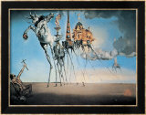 La tentation de Saint-Antoine, 1946 Posters par Salvador Dal&#237;
