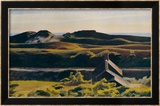 Collines au sud de Truro, 1930 Posters par Edward Hopper