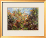 Jardin de Bordighera Affiches par Claude Monet